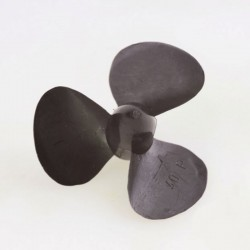 Elice Plastic Navomodele Plantat 3 Pale 40mm dreapta Ax 4mm