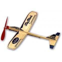 Aeromodel GUILLOWS - 50 Sky Streak Balsa 30cm Zbor Liber motor cauciuc - 1 - 5377