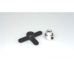 Echie cu adaptor ax 4mm