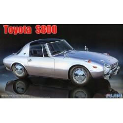 Toyota S800 '65 Macheta Auto Asamblat Fujimi - 1 - 5396