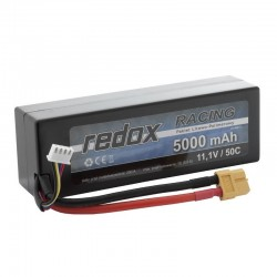 Acumulator LiPo Redox 3S 11.1V 5000mAh 50C Mufa XT60 - 1 - 5423
