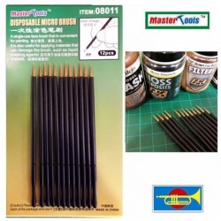 Set 12 Pensule de unica folosinta MAster Tools - 1 - 4479
