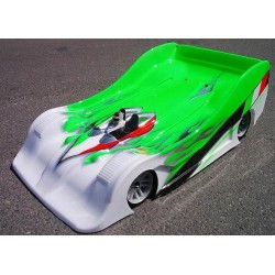 Xceed Zytec scale on road body shell 1/8