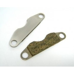 Serpent Brakeplate and pad set