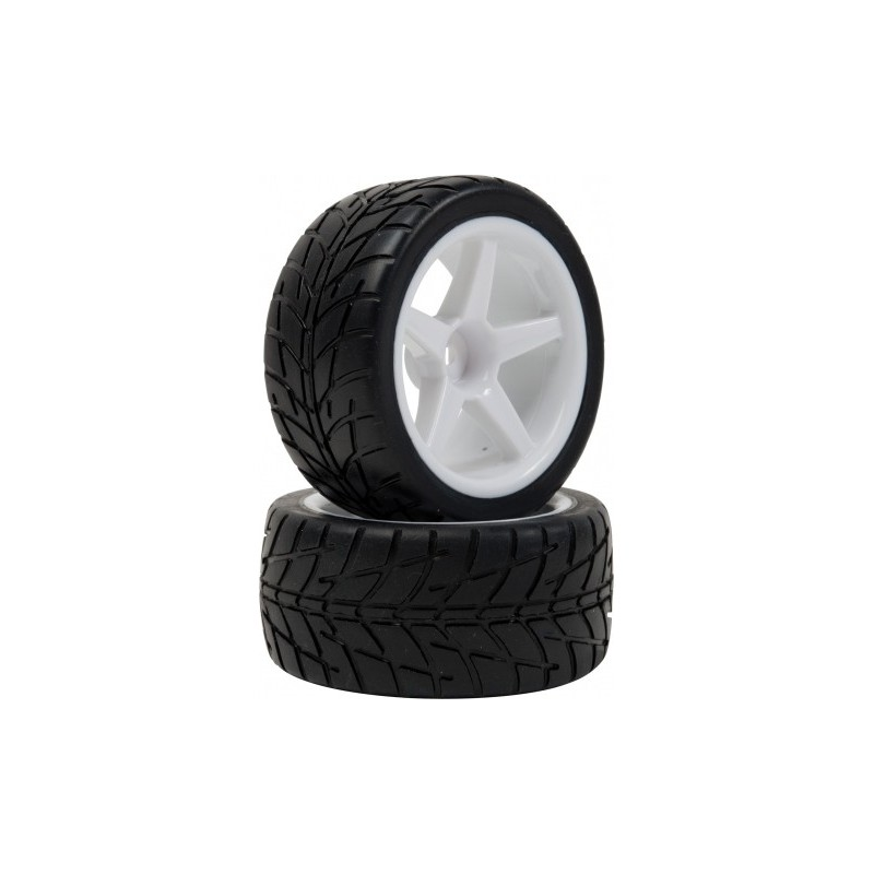 Roti Montate OnRoad Buggy 1/10 Spate Hex12mm
