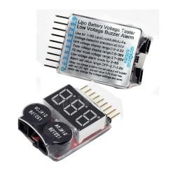 Alarma LiPo 2-8S Buzzer Li-Po - 1 - 2871