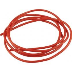 Cablu 18AWG invelis siliconic 1m Rosu