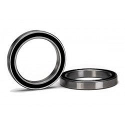 Ball bearing, black rubber sealed (20x27x4mm) (2) X-MAXX Traxxas