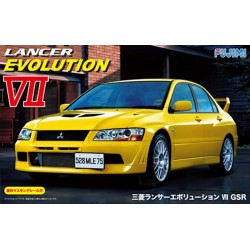 Macheta de asamblat Mitsubishi Lancer Evolution VII GSR
