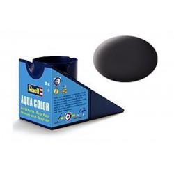 Vopsea Aqua Color Negru Mat Revell