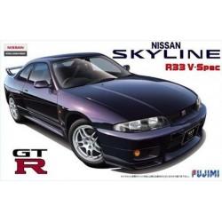 Macheta de asamblat R33 Skyline GT-RV-Spec '95