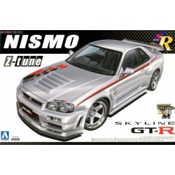 Macheta de asamblat Nissan Skyline GtR R34
