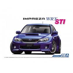 Macheta de asamblat Subaru IMPREZA WRX STI '10