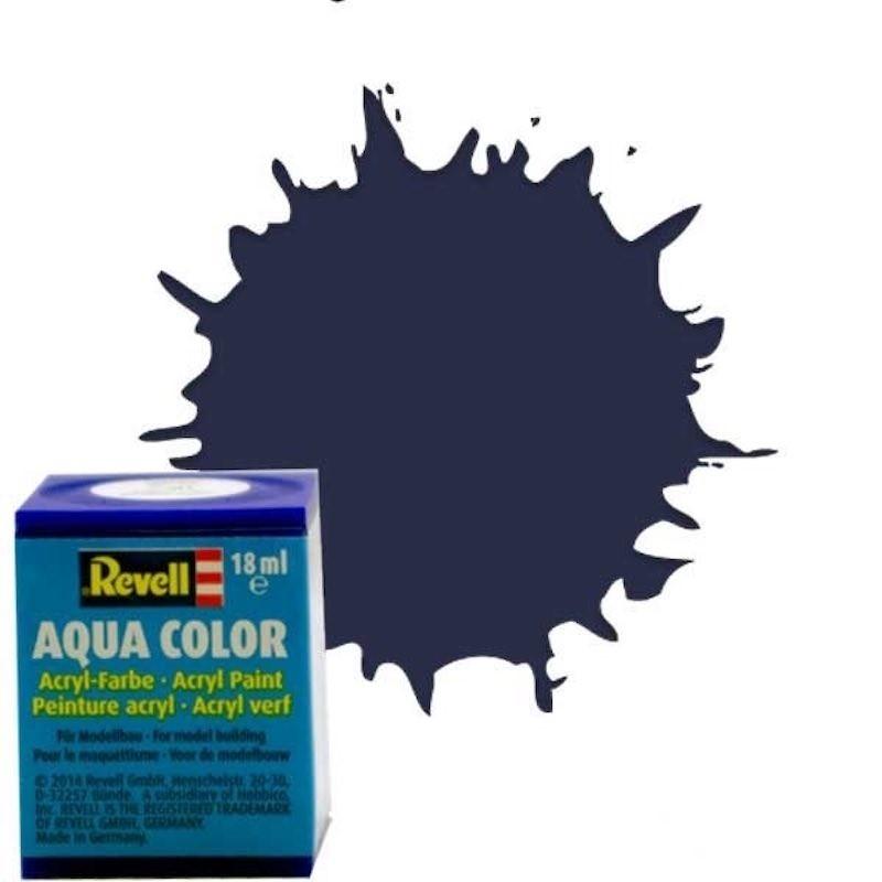 Vopsea Aqua Color Negru Mat Deschis Revell