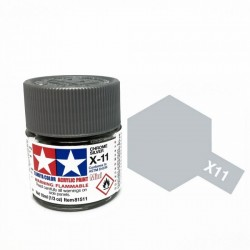 Vopsea Tamiya Acryl Mini X-11 Chrome Silver 10ml Machete