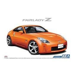 Macheta de asamblat 1/24 NISSAN Z33 FairladyZ Version ST '07