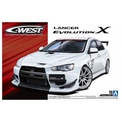 Macheta de asamblat 1/24 C-WEST LANCER EVOLUTION Ⅹ '07 MITSUBISHI