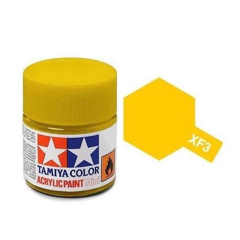 Vopsea Tamiya Acryl Mini XF03 Flat Yellow 10ml Machete