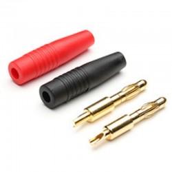 Conectori incarcare 4mm Rosu+Negru