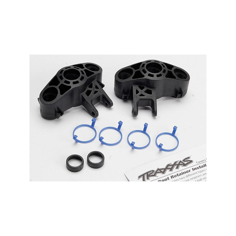 Fuzete Revo Emaxx Traxxas Axle carriers, left & right