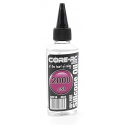 Ulei Siliconic 2000 CST CoreRC 60ml