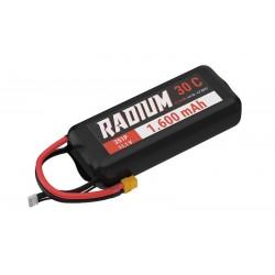 Acumulator LiPo 11.1V 1600 mAh 30C Yuki RADIUM