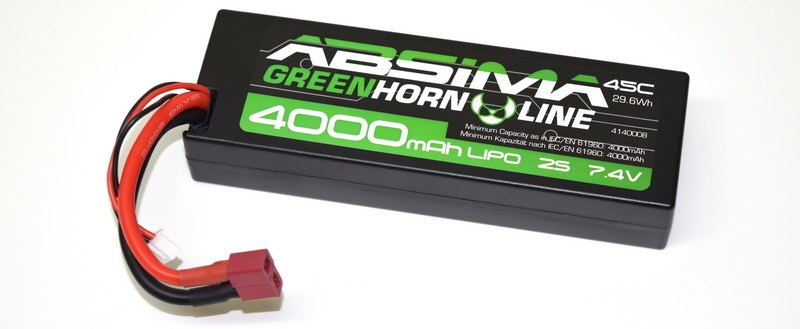 Acumulator lipo 7.4v 4000mah bateri automodele rc