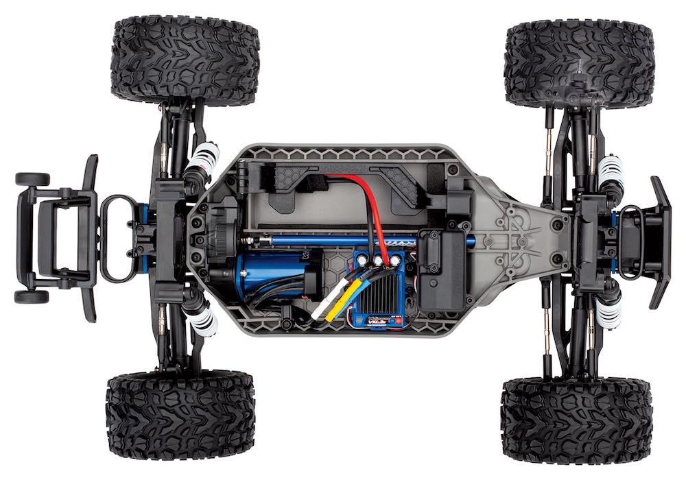 Traxxas romania automodel Rustler 4x4 67076-4