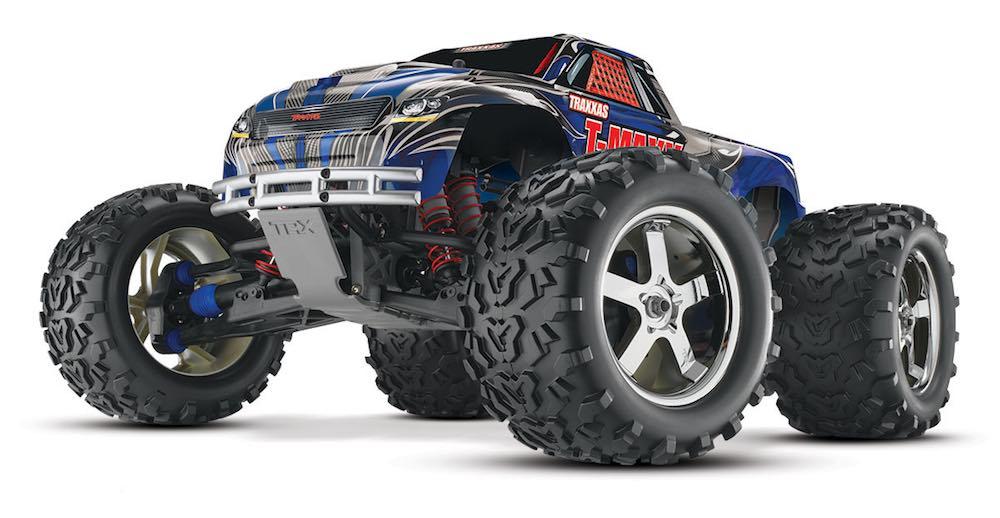masina rc monster truck benzina nitro traxxas tmaxx