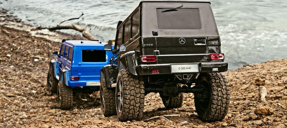 Traxxas Bucuresti TRX4 G500 Mercedes Crawler rc