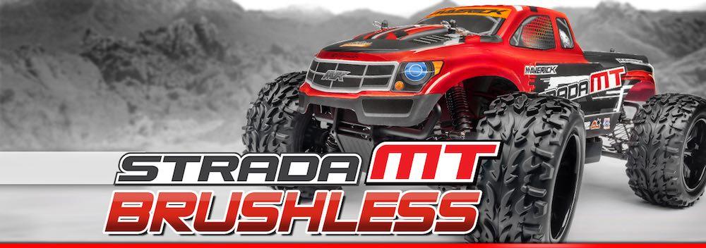 Automodel eletric maverick strada monster truck