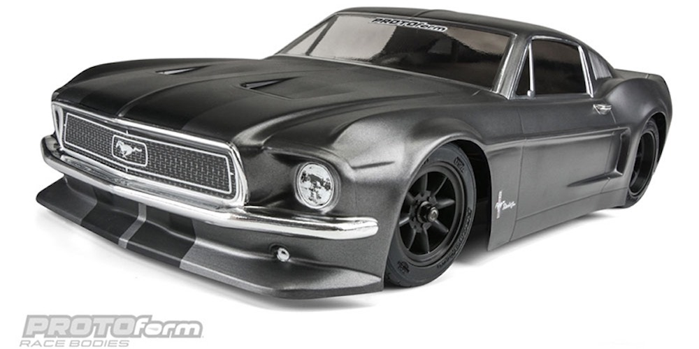 Caroserie automodel RC Proline Ford Mustang Caroserie RC Proline 1968 Ford Mustang 190mm Transparenta 1558-40